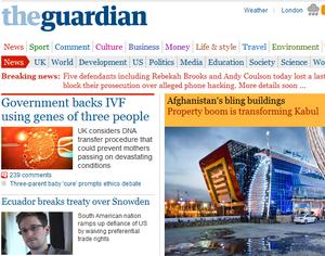 Американських військових будуть карати за скачування деяких статей із The Guardian