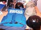 НМПУ створила банк захисної амуніції для журналістів на війні