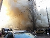 Навпроти офісу телеканалу «Інтер» у Києві сталася велика пожежа