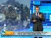 Російський канал РЕН ТВ проілюстрував сюжет про українських військових кадрами бойовиків з «Оплоту»