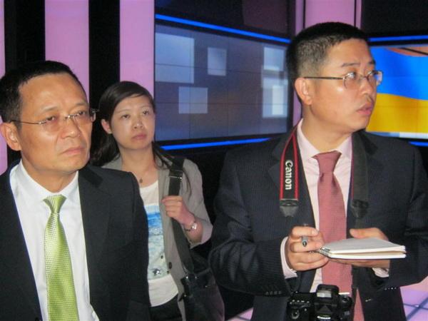 Китайські журналісти дізналися на «Інтері», що нові медіа в Україні ще не загрожують існуванню традиційних ЗМІ