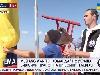 Працівники Концерну РРТ, руфер Mustang і журналіст «112 Україна» встановили державні прапори на київській телевежі (ДОПОВНЕНО)