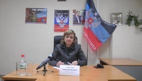 В.о. «міністра інформації» «ДНР» наказала припинити мовлення українських телеканалів