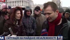 Медійник Ігор Громов заявляє про втрату техніки та побиття на Майдані