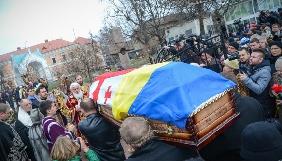 Фоторепортаж з поховання Георгія Гонгадзе