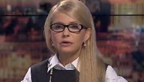 Тимошенко заявляє, що у неї немає «чорного списку» журналістів, і Лещенко теж може приходити  на ефіри за її участі