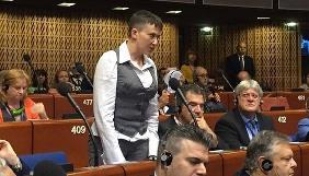 Савченко закликала російських журналістів не спотворювати інформацію і пообіцяла зв'язатися із Коцабою (ВІДЕО)