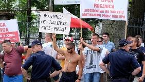 В мережі з'явилося відео інциденту з українцями в Польщі