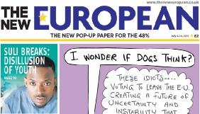 У Британії надійшла у продаж газета для противників Brexit