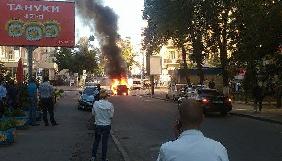 З'явилося відео вибуху автомобіля з журналістом Павлом Шереметом