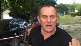 В Ужгороді п'яний водій скоїв ДТП та накинувся на місцевого журналіста