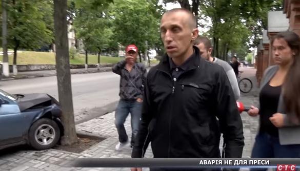 У Сумах стався напад на знімальну групу каналу СТС (ВІДЕО)