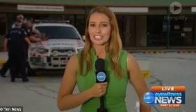 В Австралії у прямий ефір потрапив арешт зловмисника