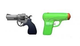 Apple замінить справжній пістолет на іграшковий у нових емодзі