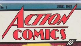 Перший комікс про Супермена продали майже за 1 млн доларів