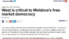 Прем'єр Молдови просить допомоги Заходу у протидії російській пропаганді