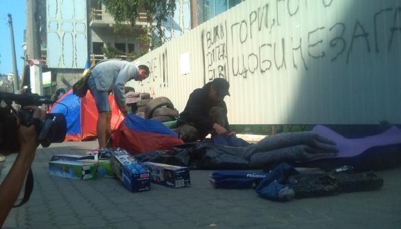Протестувальники домовилися з «Інтером» про зміну редакційної політики та звільнення Шувалова
