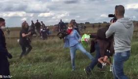 Угорську журналістку будуть судити за підніжку біженцю