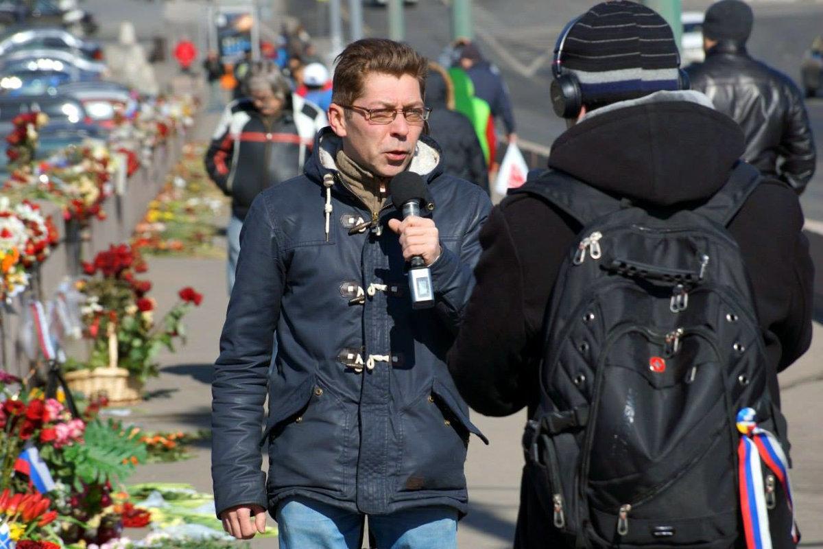 Російський журналіст Олександр Сотнік через погрози переїхав до Грузії