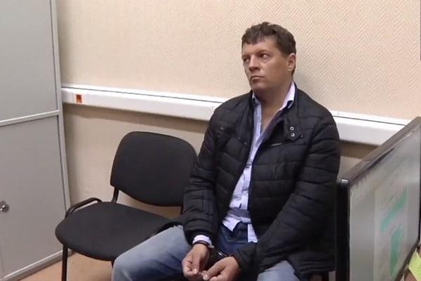 Завтра російські слідчі проводитимуть з Сущенком слідчі дії