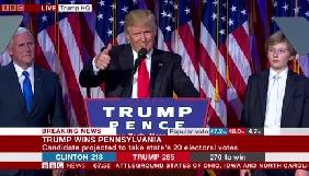 Світові ЗМІ повідомили про перемогу Дональда Трампа у президентських виборах США