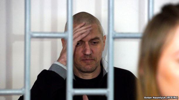 Суд у Росії визнав українського політв'язня Клиха винним в образі прокурора