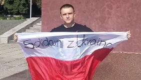 Польському журналісту виплатили компенсацію за побиття в ефірі російського телеканалу