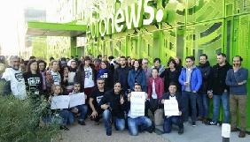 Українська редакція стала ініціатором страйку журналістів Euronews