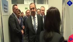Лавров назвав оператора Reuters «дебілом» на зустрічі в рамках ОБСЄ