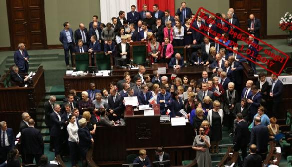 У Польщі журналісти не можуть повідомити про події у Сеймі – їм заборонили вхід