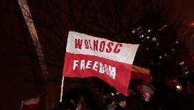 У Польщі опозиція вимагає допуску ЗМІ до Сейму і переголосування в парламенті