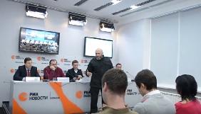 У київський прес-центр «РИА Новости» увірвалися невідомі - інформагентство