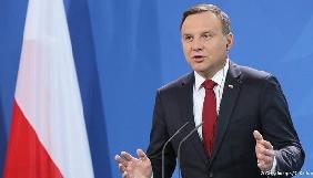 Президент Польщі заявив, що роботу журналістів у Сеймі не обмежуватимуть