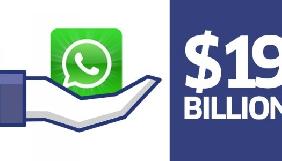 Єврокомісія звинувачує Facebook у наданні недостовірної інформації про угоду з WhatsApp