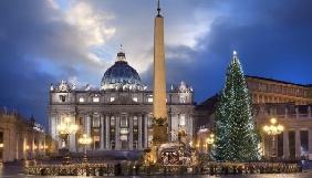«UА:Перший» покаже наживо різдвяну месу у Ватикані
