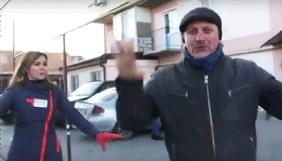В Одесі чоловік кидався на журналістів «Думской ТВ»