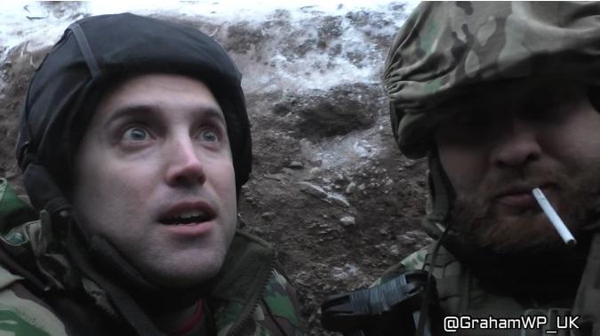 Грем Філліпс виправдався за те, що допоміг ЗСУ знищити позиції бойовиків поблизу Світлодарська (ВІДЕО)