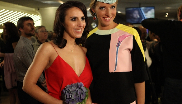 Катя Осадчая помогла Джамале выбрать свадебное платье (ВИДЕО)