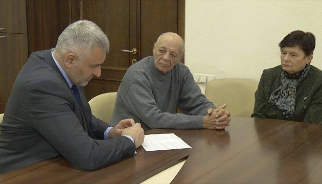 Сущенко із СІЗО привітав свого батька з днем народження
