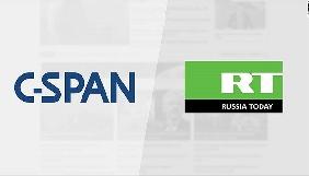 Телеканал Конгресу США раптово почав показувати ефір Russia Today