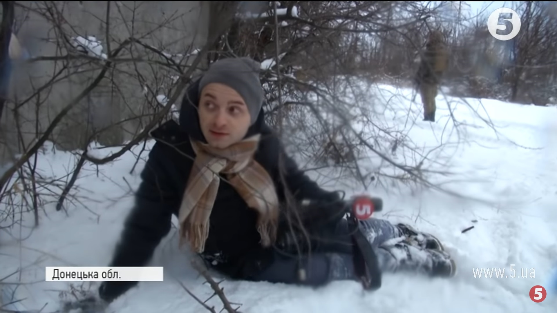 Знімальні групи 5-го каналу та «1+1» потрапили під обстріл в Авдіївці (ОНОВЛЕНО)