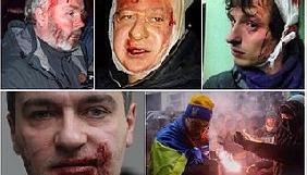 НСЖУ оновила дані про постраждалих на Євромайдані журналістів