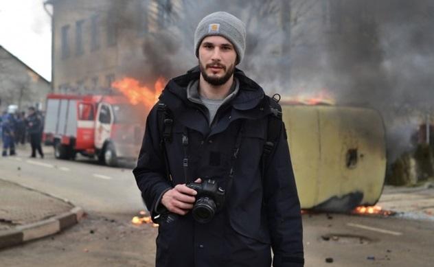 Британський фотокор Крістофер Нанн розповів подробиці поранення в Авдіївці