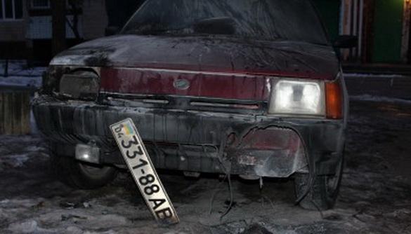 Головреду видання з Кам'янського Сергію Гузю спалили авто – він говорить про тиск і залякування