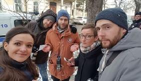 У Криму затримали журналістку «Громадського радіо» та знімальну групу СТБ