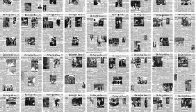 У США художник зібрав усі обкладинки The New York Times за 166 років у одне відео