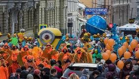 Масленица курильщика. В Харькове прошел странный парад в честь праздника