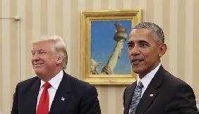 Трамп звинуватив Обаму в організації протестів та зливі інформації в ЗМІ
