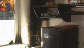 На Кіровоградщині невідомі підпалили офіс телекомпанії «Контакт-ЛТД»