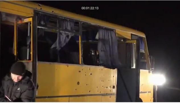Babylon'13 спільно з СБУ зробив фільм про обстріл автобусу з пасажирами поблизу Волновахи